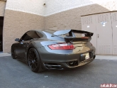 TechArt Side Skirts and MAShaw GT2 Wing