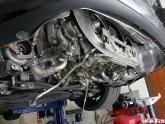 997TT JIC Cross Exhaust Install