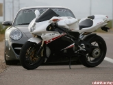 Porsche 997 Turbo and MV Agusta