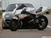 Porsche 997 Turbo and MV Agusta