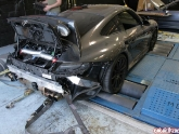 Project 997 Turbo Strapped to the Dyno