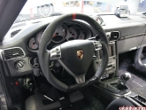 Dct Custom Steering Wheel On Project Porsche 997tt