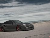 Porsche 997 Turbo at AMP Road Course