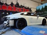 Porsche 991 Carrera X Pipe Exhaust Test by Agency Power