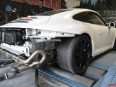 Porsche 991 Carrera with Performance Headers, 2nd Bypass Pipes, Center X Pipe Exhaust