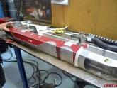 Use Template to cut Bumper Beam