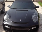 Porsche 997 C4S Cab with NR Auto GT Street Body Kit and Gemballa Style Hood