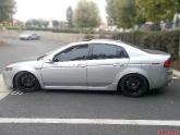 Acura TSX with Advan RSD Wheels 18x8.0