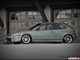 Honda Civic Hatch 1996 Jline Wheels