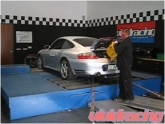 Adam's Porsche 996 C4S on the Dyno