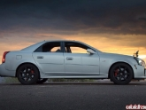 Derek's Cadillac Cts-v Sunset Photoshoot In Arizona