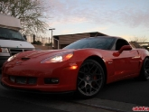 Corvette with HRE P40SC Satin Charcoal 20x10.5 20x13