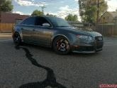 Audi S4 with Advan TCIII Wheels