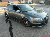 Audi S4 with Advan TCIII Wheels