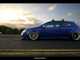 HRE Vintage 501 Wheels VW GTI 18x9 +22mm 18x10 +12mm