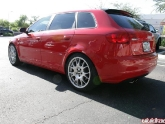 Audi A3 Lowered on H&R with BBS CH Wheels
