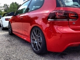 Volkswagen Golf R Lowered with KW Clubsport Coilovers