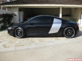 Steve's Audi R8 with HRE 890R Wheels and H&R Springs