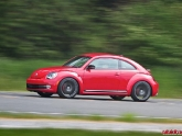 Volkswagen Beetle Turbo 2012 with H&R Springs