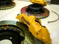 Big Brembo Brakes on Project 996TT