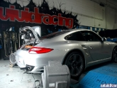 Agency Power Y-pipe On Porsche 997.2