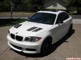 BMW 135I with Seibon GTR Hood