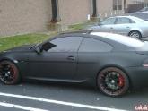 Josh's Flat Black M6 with HRE P40 Wheels
