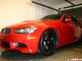 BMW E92 M3 with Volk TE37 Wheels