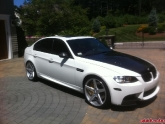 BMW E90 M3 with Vossen, StopTech, Arkym, Dinan