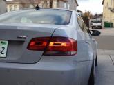 BMW M3 E92 White Work Brombacher Silver 19 inch Wheels