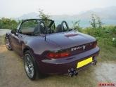 BMW Z3 1999 2.8L Eisenmann Quad Tip Exhaust