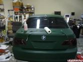 Bmw 750li Wrapped Army Green
