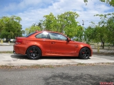 Volk Racing TE37sl Wheels BMW 1M Coupe