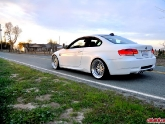 BMW E92 M3 White Work VSXX Brombacher Wheels 19x9.5 19x11