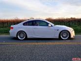BMW E92 M3 White Work VSXX Brombacher Wheels 19x9.5 19x11