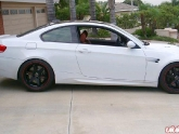 Volk Time Attacks on E92 BMW M3 Lowered