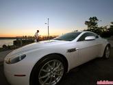 Franks White Aston Martin