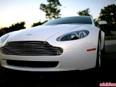 Franks White Aston Martin