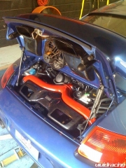 Agency Power Cold Air Intake Installed