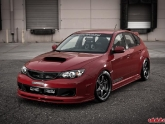 Subaru STI Cosworth Volk G2 Wheels Toyo Tires