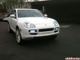 Porsche Cayenne S With Led Lights Installed