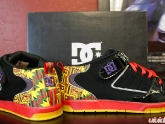 DC Shoes Biltmore 80's Red Black