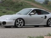 Greek Porsche 996TT at the Track