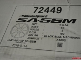 Weds SA-55M Wheels