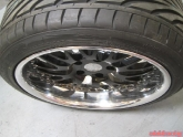 IForged Emotion 3pc 18 Inch Wheels with Toyo Tires