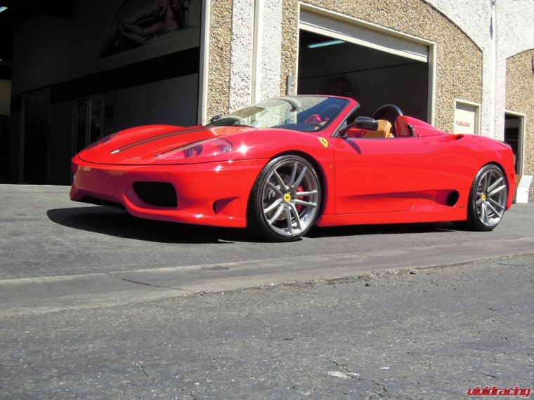 Ferrari 360 Spyder with ADV1 Wheels 5.2.1 19x8.5 20x12