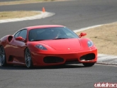 Ferrari F430 in Mexico at the Track