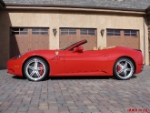 Ferrari California stock ride height