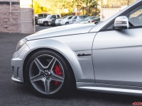H&R Coilovers Installed Mercedes C63 AMG