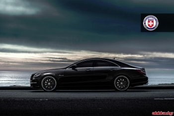 Mercedes CLS63 with HRE 990R Wheels 21 inch